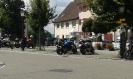 Pause am alten Stadttor in Mühlheim an der Donau
