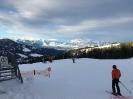 Blick von der Bergstation Richtung Rheintal und Schweizer Berge