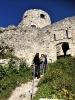 Abstieg von der Ruine Ehrenberg