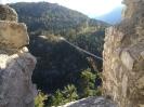Blick von der Ruine Ehrenberg auf die Highline 179