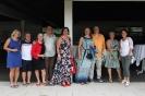 Sabine mit Wolfi, Maggy mit Peter, Beate, Michaela mit Walter, Jolanda, Annette und Gabi fotografiert