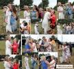 Das große Gratulieren und Küssen