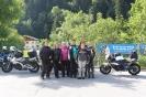 Vollzählig in Klösterle - Gabi, Jolanda, Ingrid, Sandra, Maggy, Gabriela und Sabine