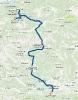 Route von Gosau nach Maria Rain