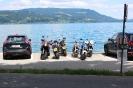 Unsere Motorräder am Attersee