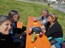 Gabi, Maggy, Klaus und Beate im Gespräch