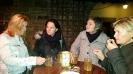 Sabine, Annette, Lilian und Jolanda beim Glühmost