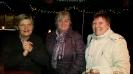 Jolanda, Ingrid und Gabi freuen sich, dass alle do sind