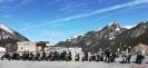Fotostop beim großen Parkplatz in Malbun